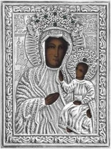 black madonna and child